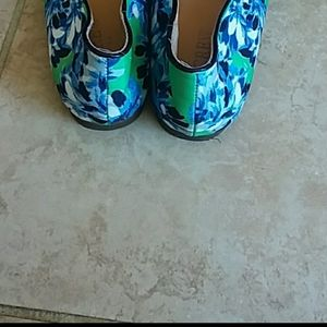 J. Crew Shoes - J. Crew Cara floral smoking loafers